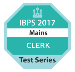 IBPS 2017 Mains Clerk TestSeries